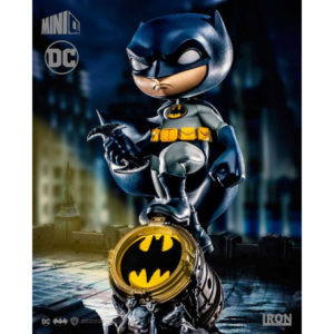 BATMAN FIGURINE MINI CO. PVC IRON STUDIOS 19 CM 606529317508 kingdom-figurine.fr