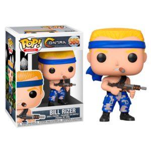 BILL RIZER FIGURINE CONTRA POP GAMES 585 FUNKO 889698469975 kingdom-figurine.fr (3)