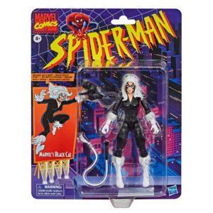 BLACK CAT FIGURINE MARVEL SPIDER-MAN RETRO COLLECTION HASBRO 15 CM 5010993767335 kingdom-figurine.fr
