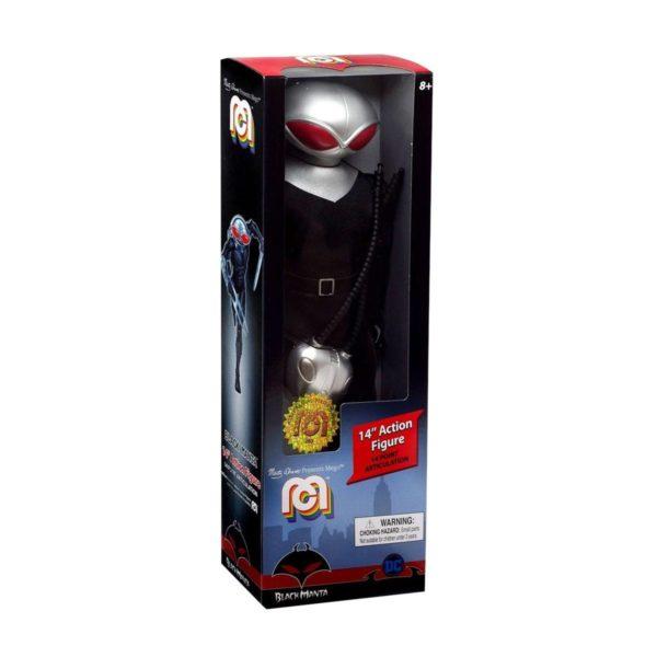 BLACK MANTA FIGURINE DC COMICS MEGO 36 CM 852404008348 kingdom-figurine.fr