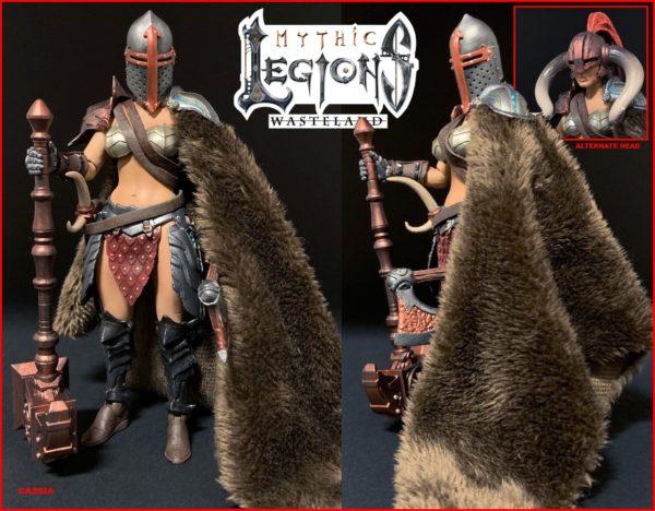 CASSIA FIGURINE MYTHIC LEGIONS WASTELAND FOUR HORSEMEN DESIGN TOY 15 CM 11449861 kingdom-figurine.fr (2)