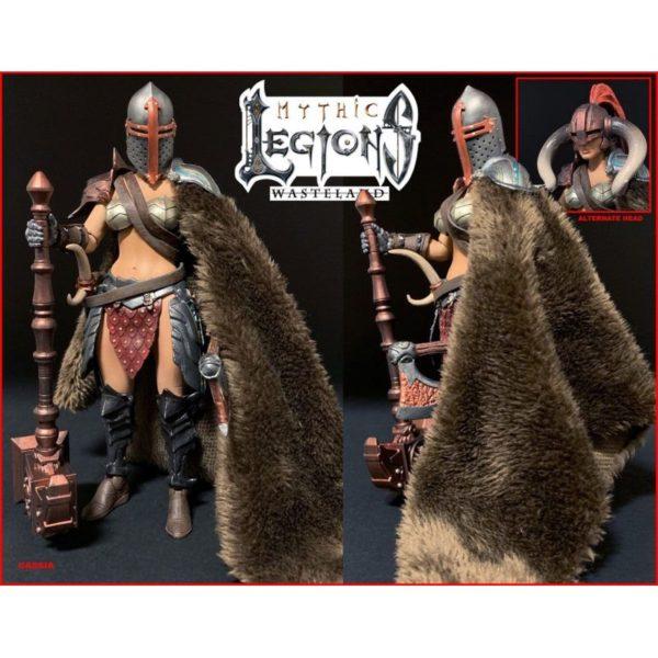 CASSIA FIGURINE MYTHIC LEGIONS WASTELAND FOUR HORSEMEN DESIGN TOY 15 CM 11449861 kingdom-figurine.fr