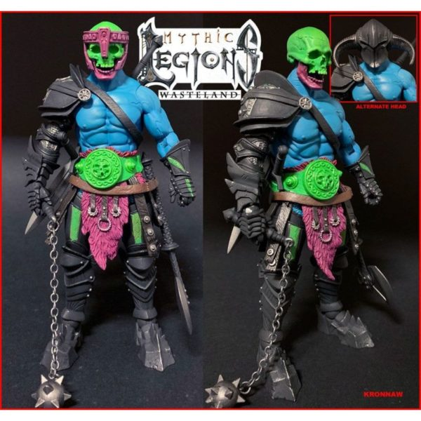 KRONNAW FIGURINE MYTHIC LEGIONS WASTELAND FOUR HORSEMEN DESIGN TOY 15 CM 49347737 kingdom-figurine.fr
