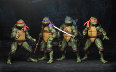 Les Tortues Ninja devenues trentenaires