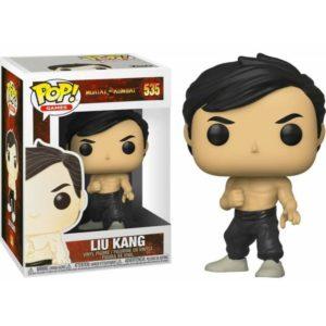 LIU KANG FIGURINE MORTAL KOMBAT FUNKO POP GAMES 535 889698451086 kingdom-figurine.fr