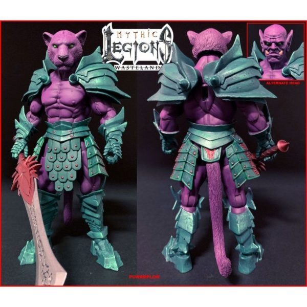 PURRRPLOR FIGURINE MYTHIC LEGIONS WASTELAND FOUR HORSEMEN DESIGN TOY 15 CM 93735731 kingdom-figurine.fr