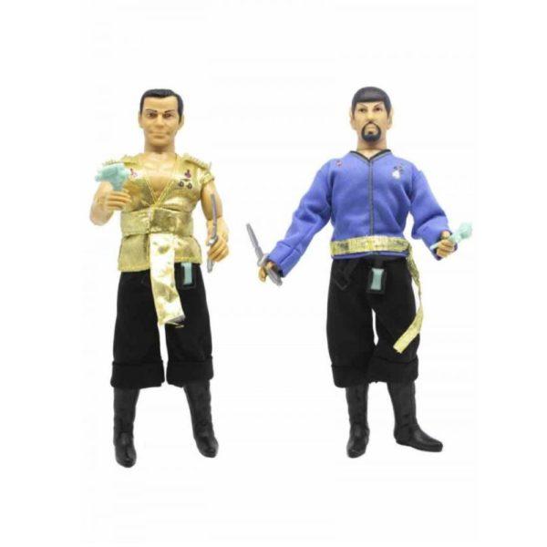 SPOCK & KIRK PACK 2 FIGURINES STAR TREK MIROR UNIVERSE MEGO 20 CM 850003511122 kingdom-figurine.fr (2)