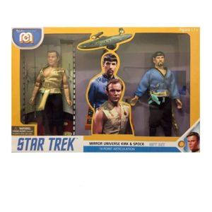 SPOCK & KIRK PACK 2 FIGURINES STAR TREK MIROR UNIVERSE MEGO 20 CM 850003511122 kingdom-figurine.fr