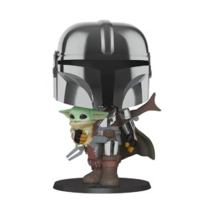 THE MANDALORIAN HOLDIND THE CHILD FIGURINE POP SUPER SIZED STAR WARS THE MANDALORIAN FUNKO 380 25 CM 889698499316 kingdom-figurine.fr