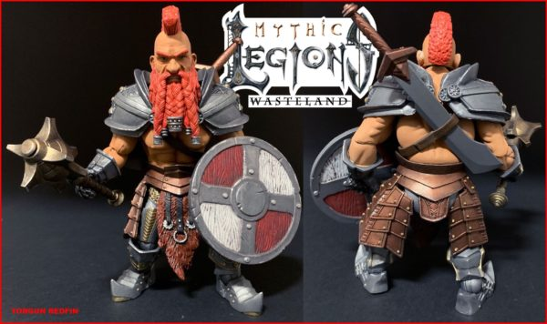TORGUN REDFIN FIGURINE MYTHIC LEGIONS WASTELAND FOUR HORSEMEN TOY DESIGN 15 CM kingdom-figurine.fr (2)