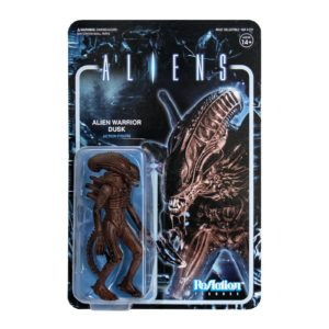 ALIEN WARRIOR DUSK BROWN FIGURINE ALIENS WAVE 1 RE-ACTION SUPER7 10 CM 840049800113 kingdom-figurine.fr