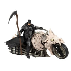 BATCYCLE VEHICULE PVC BATMAN DARK NIGHTS METAL DEATH METAL McFARLANE TOYS 787926157055 kingdom-figurine.fr