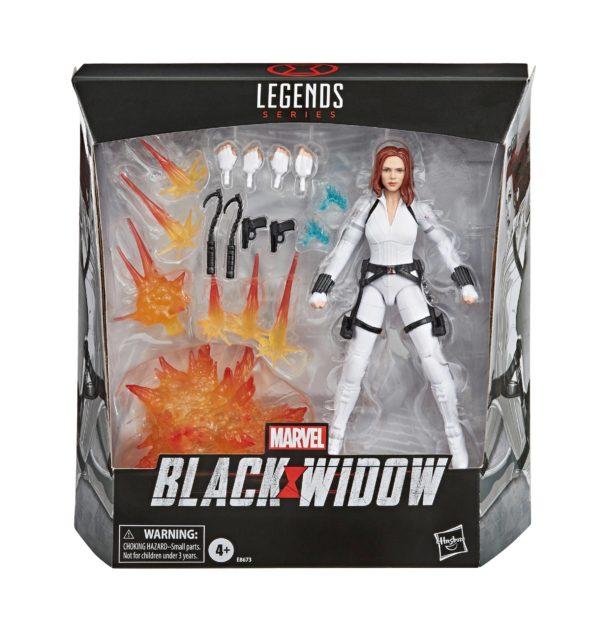 BLACK WIDOW DELUXE FIGURINE MARVEL LEGENDS SERIES HASBRO 15 CM 5010993674213 kingdom-figurine.fr