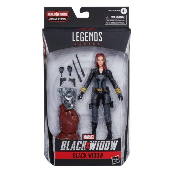 BLACK WIDOW FIGURINE BLACK WIDOW MOVIE MARVEL LEGENDS HASBRO 15 CM 5010993672738 kingdom-figurine.fr