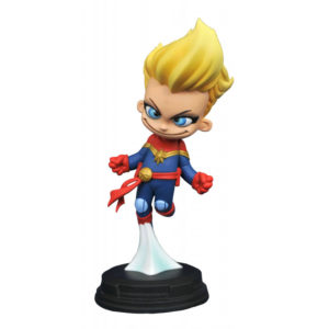 CAPTAIN MARVEL MINI STATUETTE MARVEL ANIMATED SERIES GENTLE GIANT 10 CM 699788838020 kingdom-figurine.fr