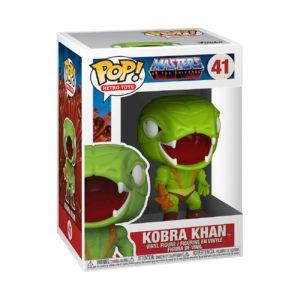 KOBRA KHAN FIGURINE POP MASTERS OF THE UNIVERSE RETRO TOYS 41 FUNKO 889698514484 kingdom-figurine.fr