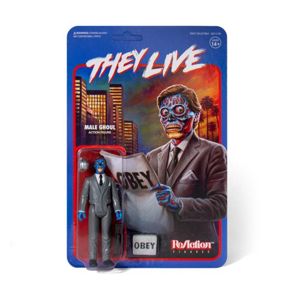 MALE GHOUL FIGURINE INVASION IN LOS ANGELES RE-ACTION SUPER7 10 CM 811169038373 kingdom-figurine.fr