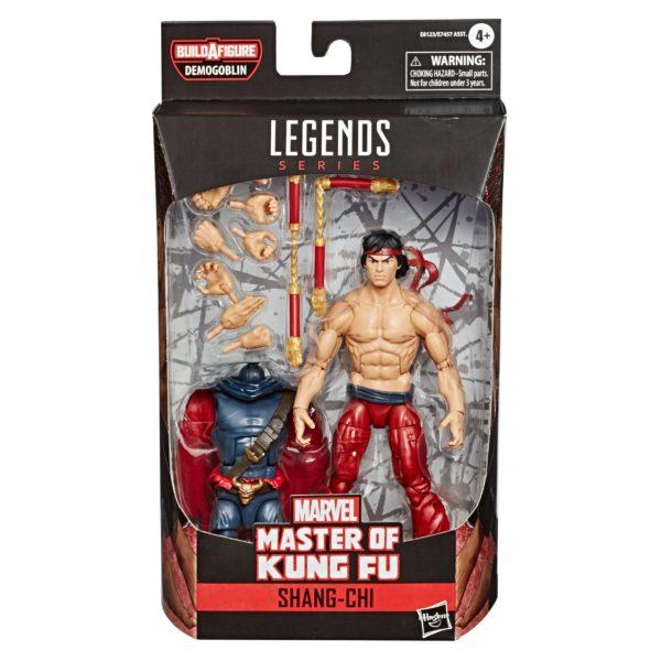 SHANG-CHI FIGURINE MASTER OF KUNG FU COMICS MARVEL LEGENDS HASBRO 15 CM 5010993659470 kingdom-figurine.fr
