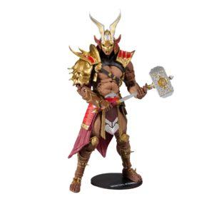 SHAO KHAN FIGURINE MORTAL KOMBAT McFARLANE TOYS 18 CM 787926110371 kingdom-figurine.fr