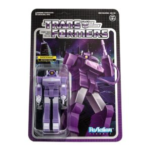 SHOCKWAVE FIGURINE TRANSFORMERS WAVE 2 RE-ACTION SUPER7 10 CM 840049806818 kingdom-figurine.fr