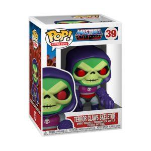 TERROR CLAWS SKELETOR FIGURINE POP MASTERS OF THE UNIVERSE RETRO TOYS 39 FUNKO 889698514392 kingdom-figurine.fr