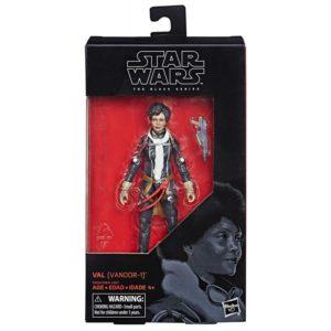VAL (VANDOR-1) FIGURINE STAR WARS SOLO BLACK SERIES HASBRO 15 CM 630509731060 kingdom-figurine.fr