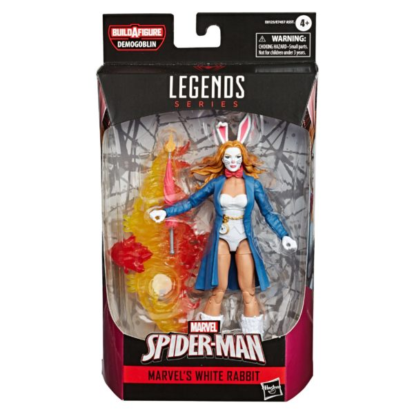 WHITE RABBIT FIGURINE MARVEL LEGENDS SPIDER-MAN COMICS HASBRO 15 CM 5010993659463 kingdom-figurine.fr