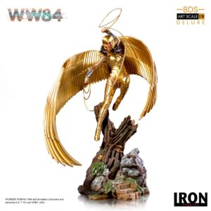 WONDER WOMAN 1984 STATUETTE 110 BDS ART SCALE DELUXE IRON STUDIOS 32 CM 736532715616 kingdom-figurine.fr