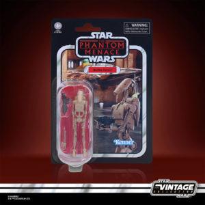 BATTLE DROID FIGURINE STAR WARS EPISODE I VINTAGE COLLECTION HASBRO 10 CM 5010993813322 kingdom-figurine.fr