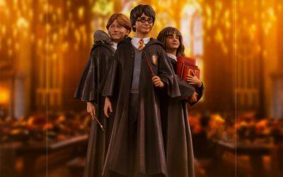 Le film Harry Potter fête ses 20 ans en 2021 avec de nouvelles figurines Iron Studios