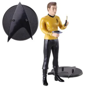 KIRK FIGURINE FLEXIBLE STAR TREK BENDYFIGS NOBLE TOYS 19 CM 849421007263 kingdom-figurine.fr