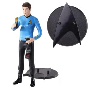McCOY FIGURINE FLEXIBLE STAR TREK BENDYFIGS NOBLE TOYS 19 CM 849421007249 kingdom-figurine.fr