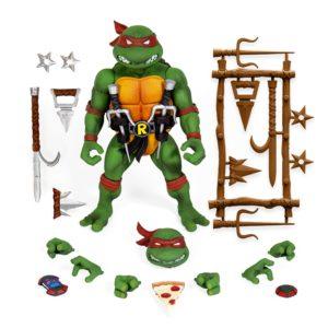 RAPHAEL FIGURINE ULTIMATE VERSION 2 LES TORTUES NINJA TNMT SUPER7 18 CM 840049811607 kingdom-figurine.fr