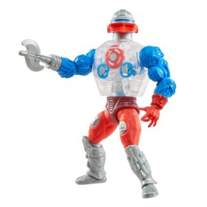 ROBOTO FIGURINE MASTERS OF THE UNIVERSE ORIGINS MATTEL 14 CM 887961913415 kingdom-figurine.fr