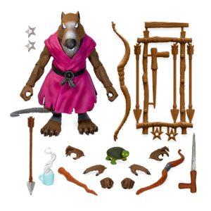 SPLINTER FIGURINE ULTIMATE VERSION 2 LES TORTUES NINJA TNMT SUPER7 18 CM 840049811614 kingdom-figurine.fr
