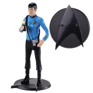 SPOCK FIGURINE FLEXIBLE STAR TREK BENDYFIGS NOBLE TOYS 19 CM 849421007256 kingdom-figurine.fr