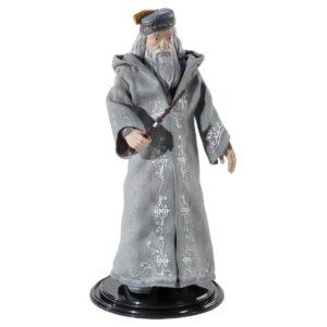 ALBUS DUMBLEDORE FIGURINE FLEXIBLE HARRY POTTER BENDYFIGS NOBLE TOYS 19 CM 849421006822 kingdom-figurine.fr