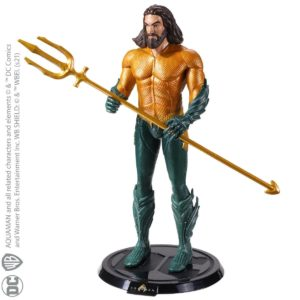 AQUAMAN FIGURINE FLEXIBLE DC COMICS BENDYFIGS NOBLE TOYS 19 CM 849421007119 kingdom-figurine.fr