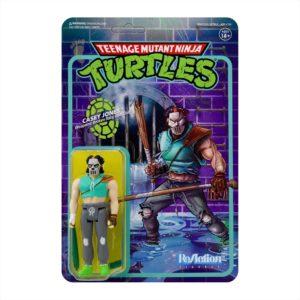 CASEY JONES FIGURINE LES TORTUES NINJA TMNT RE-ACTION SUPER7 10 CM 840049807266 kingdom-figurine.fr