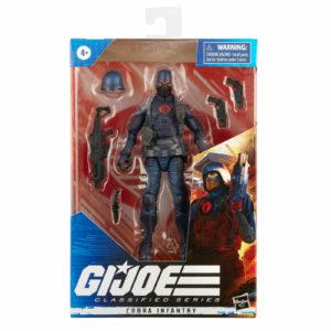 COBRA INFANTRY FIGURINE G.I. JOE CLASSIFIED SERIES HASBRO 15 CM 5010993831289 kingdom-figurine.fr