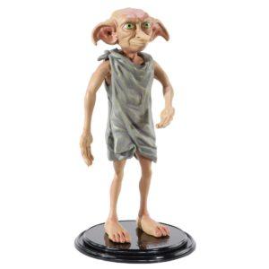DOBBY FIGURINE FLEXIBLE HARRY POTTER BENDYFIGS NOBLE TOYS 19 CM 849421007508 kingdom-figurine.fr
