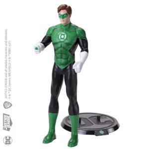 GREEN LANTERN FIGURINE FLEXIBLE DC COMICS BENDYFIGS NOBLE TOYS 19 CM 849421007560 kingdom-figurine.fr