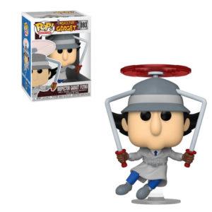 INSPECTEUR GADGET FLYING FIGURINE POP ANIMATION INSPECTEUR GADGET FUNKO 893 889698492690 kingdom-figurine.fr