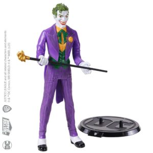 JOKER FIGURINE FLEXIBLE DC COMICS BENDYFIGS NOBLE TOYS 19 CM 849421007584 kingdom-figurine.fr