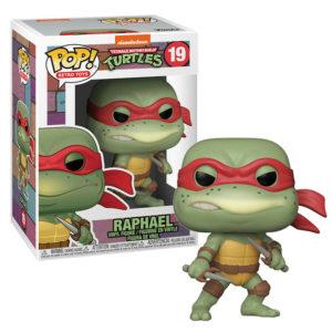 RAPHAEL FIGURINE POP LES TORTUES NINJA TMNT RETRO TOYS FUNKO 19 889698514323 kingdom-figurine.fr