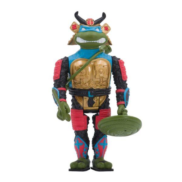 SAMURAI LEONARDO FIGURINE LES TORTUES NINJA TMNT RE-ACTION SUPER7 10 CM 840049807259 kingdom-figurine.fr (2)