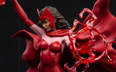 Nouvelle statue Scarlet Witch par Iron Studios