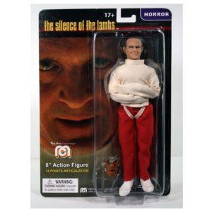 HANNIBAL LECTER IN STRAIGHTJACKET FIGURINE LE SILENCE DES AGNEAUX MEGO 20 CM 852404008881 kingdom-figurine.fr