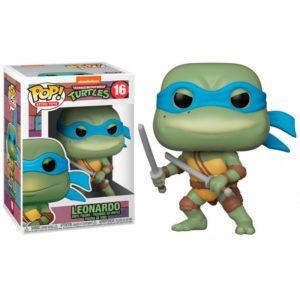 LEONARDO FIGURINE POP LES TORTUES NINJA TMNT RETRO TOYS FUNKO 16 889698514354 kingdom-figurine.fr