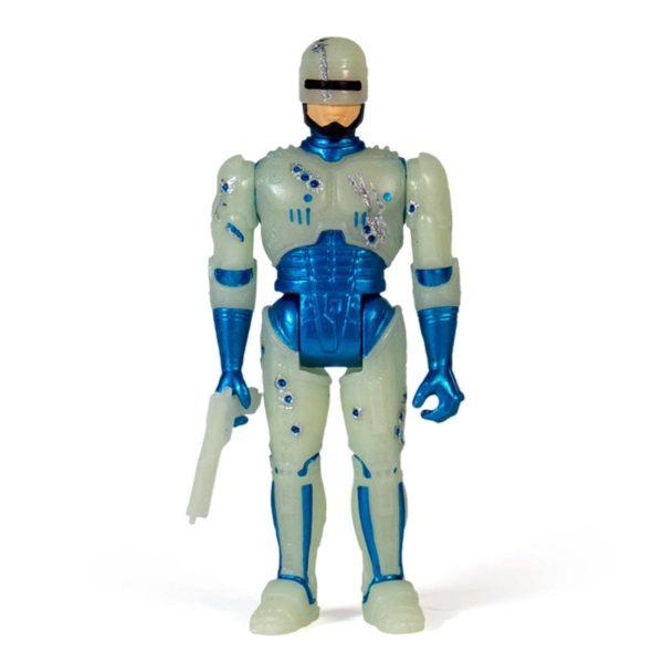 ROBOCOP BATTLE DAMAGED GLOW IN THE DARK FIGURINE ROBOCOP RE-ACTION SUPER7 10 CM 840049803640 kingdom-figurine.fr (2)